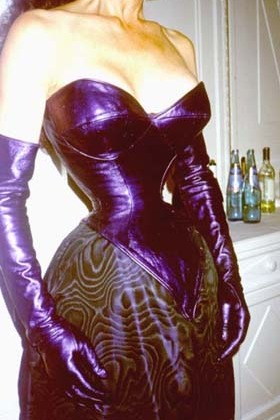 Cathie Jung - Custom Purple Corset